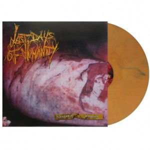 "LAST DAYS OF HUMANITY - Putrefaction In Progress - LP - 12"" (Putrefaction Orange)"