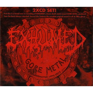 EXHUMED - Gore Metal - A Necrospective 1998-2015 - 2CD (Versão censurada)