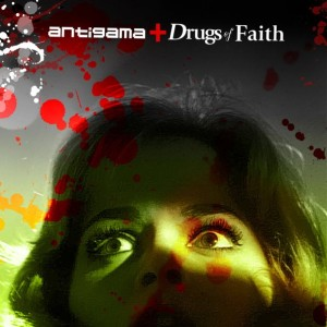 "ANTIGAMA / DRUG OF FAITH ‎- Split CD 3"" - R$ 25,00"