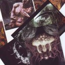 POST CARDs - Invitation of Death Metal Art