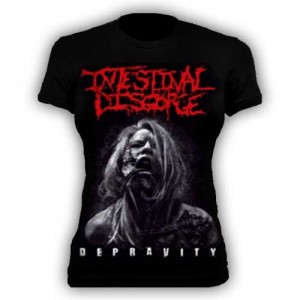 INTESTINAL DISGORGE - Depravity - Baby look - G