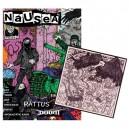 NÁUSEA ZINE - nº 1 + CD (RATTUS / DOOM) - Zine