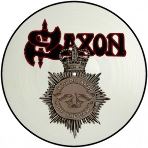 "SAXON - Strong Arm Of The Law - LP 12"" (Picture)"
