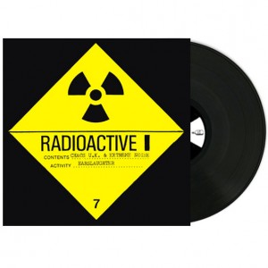 EXTREME NOISE TERROR / CHAOS UK - Radioactive (split) - LP 12""