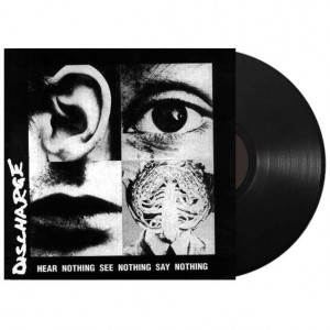 DISCHARGE - Hear Nothing See Nothing Say Nothing - LP 12""
