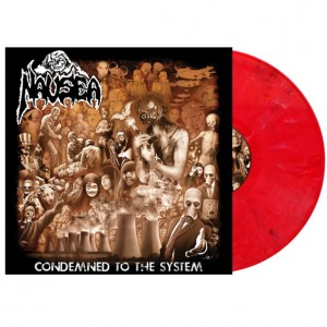 NAUSEA - Condemned To The System - LP 12""