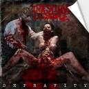 INTESTINAL DISGORGE -  Depravity - Adesivo