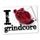 I LOVE GRIDNDCORE - 2 Linhas - Adesivo